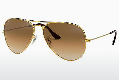 نظارة شمسية Ray-Ban AVIATOR LARGE METAL (RB3025 001/51) - ذهبي