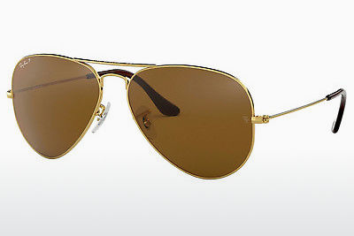نظارة شمسية Ray-Ban AVIATOR LARGE METAL (RB3025 001/57) - ذهبي