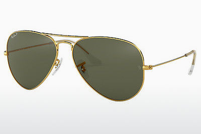 نظارة شمسية Ray-Ban AVIATOR LARGE METAL (RB3025 001/58) - ذهبي