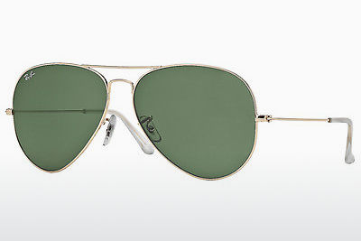 نظارة شمسية Ray-Ban AVIATOR LARGE METAL (RB3025 001) - ذهبي