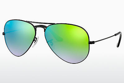 نظارة شمسية Ray-Ban AVIATOR LARGE METAL (RB3025 002/4J) - أسود