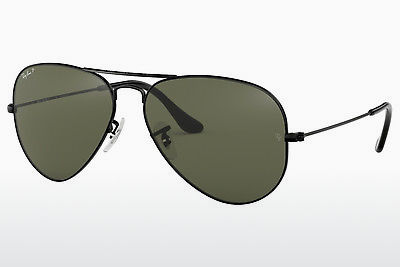 نظارة شمسية Ray-Ban AVIATOR LARGE METAL (RB3025 002/58) - أسود