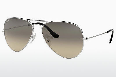 نظارة شمسية Ray-Ban AVIATOR LARGE METAL (RB3025 003/32) - فضي