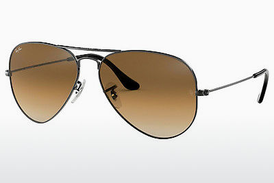 نظارة شمسية Ray-Ban AVIATOR LARGE METAL (RB3025 004/51) - رمادي