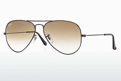 نظارة شمسية Ray-Ban AVIATOR LARGE METAL (RB3025 014/51) - بني