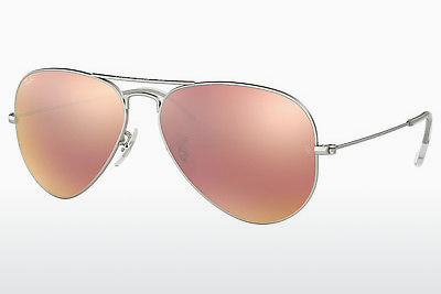نظارة شمسية Ray-Ban AVIATOR LARGE METAL (RB3025 019/Z2) - فضي