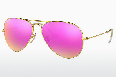 نظارة شمسية Ray-Ban AVIATOR LARGE METAL (RB3025 112/1Q) - ذهبي