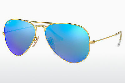 نظارة شمسية Ray-Ban AVIATOR LARGE METAL (RB3025 112/4L) - ذهبي