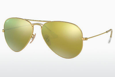 نظارة شمسية Ray-Ban AVIATOR LARGE METAL (RB3025 112/93) - ذهبي