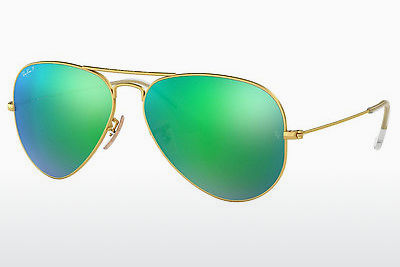 نظارة شمسية Ray-Ban AVIATOR LARGE METAL (RB3025 112/P9) - ذهبي