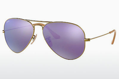 نظارة شمسية Ray-Ban AVIATOR LARGE METAL (RB3025 167/1M) - بني