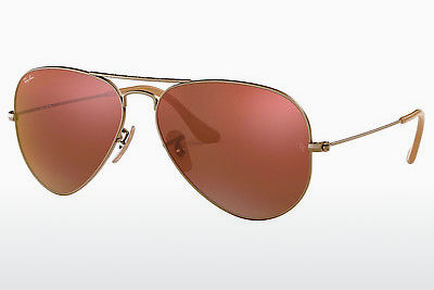 نظارة شمسية Ray-Ban AVIATOR LARGE METAL (RB3025 167/2K) - بني