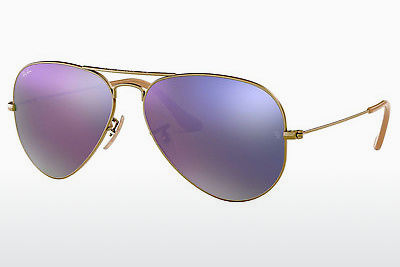 نظارة شمسية Ray-Ban AVIATOR LARGE METAL (RB3025 167/4K) - بني