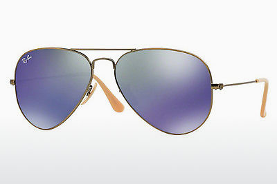 نظارة شمسية Ray-Ban AVIATOR LARGE METAL (RB3025 167/68) - بني