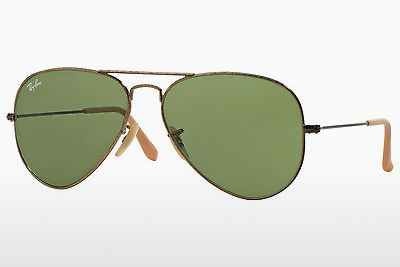 نظارة شمسية Ray-Ban AVIATOR LARGE METAL (RB3025 177/4E) - ذهبي