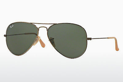 نظارة شمسية Ray-Ban AVIATOR LARGE METAL (RB3025 177) - ذهبي