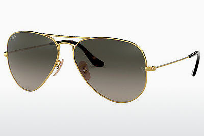 نظارة شمسية Ray-Ban AVIATOR LARGE METAL (RB3025 181/71) - ذهبي
