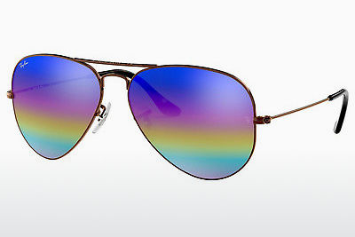نظارة شمسية Ray-Ban AVIATOR LARGE METAL (RB3025 9019C2) - رمادي, بني