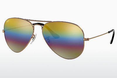نظارة شمسية Ray-Ban AVIATOR LARGE METAL (RB3025 9020C4) - رمادي, بني