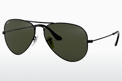 نظارة شمسية Ray-Ban AVIATOR LARGE METAL (RB3025 L2823) - أسود