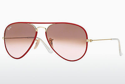 نظارة شمسية Ray-Ban AVIATOR FULL COLOR (RB3025JM 001/X3) - ذهبي, أحمر