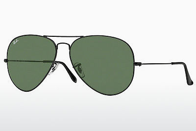 نظارة شمسية Ray-Ban AVIATOR LARGE METAL II (RB3026 L2821) - أسود