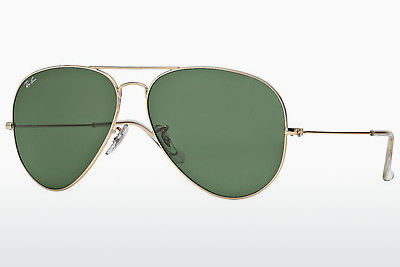 نظارة شمسية Ray-Ban AVIATOR LARGE METAL II (RB3026 L2846) - ذهبي