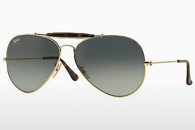 نظارة شمسية Ray-Ban OUTDOORSMAN II (RB3029 181/71) - ذهبي