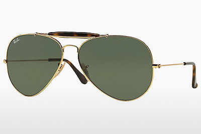 نظارة شمسية Ray-Ban OUTDOORSMAN II (RB3029 181) - ذهبي