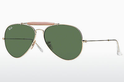 نظارة شمسية Ray-Ban OUTDOORSMAN II (RB3029 L2112) - ذهبي