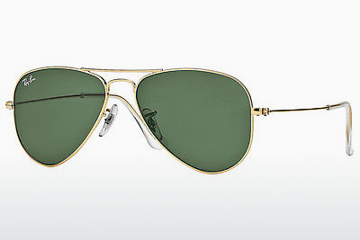 نظارة شمسية Ray-Ban AVIATOR SMALL METAL (RB3044 L0207) - ذهبي