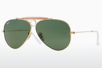 نظارة شمسية Ray-Ban SHOOTER (RB3138 001) - ذهبي