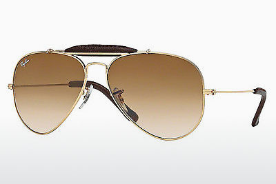 نظارة شمسية Ray-Ban AVIATOR CRAFT (RB3422Q 001/51) - ذهبي