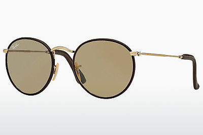 نظارة شمسية Ray-Ban ROUND CRAFT (RB3475Q 112/53) - ذهبي