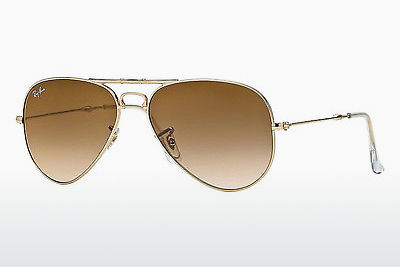 نظارة شمسية Ray-Ban AVIATOR FOLDING (RB3479 001/51) - ذهبي