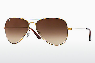 نظارة شمسية Ray-Ban AVIATOR FLAT METAL (RB3513 149/13) - ذهبي, Sand