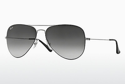 نظارة شمسية Ray-Ban AVIATOR FLAT METAL (RB3513 154/8G) - فضي