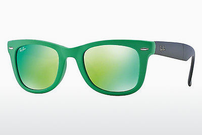 نظارة شمسية Ray-Ban FOLDING WAYFARER (RB4105 602119) - أخضر