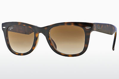 نظارة شمسية Ray-Ban FOLDING WAYFARER (RB4105 710/51) - بني, هافانا