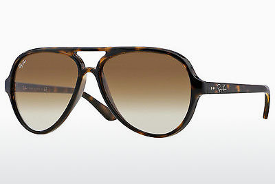 نظارة شمسية Ray-Ban CATS 5000 (RB4125 710/51) - بني, هافانا