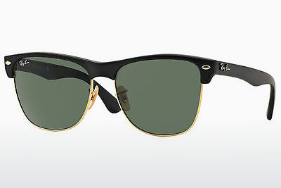 نظارة شمسية Ray-Ban CLUBMASTER OVERSIZED (RB4175 877) - أسود, ذهبي