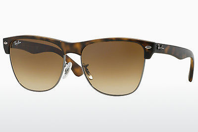 نظارة شمسية Ray-Ban CLUBMASTER OVERSIZED (RB4175 878/51) - بني, هافانا