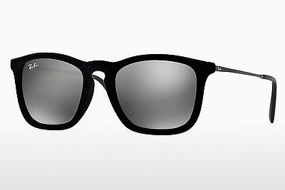 نظارة شمسية Ray-Ban CHRIS (RB4187 60756G) - أسود