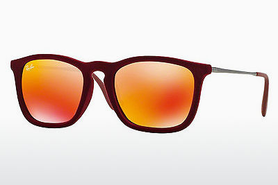 نظارة شمسية Ray-Ban CHRIS (RB4187 60786Q) - أحمر