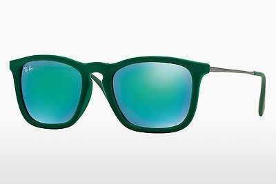 نظارة شمسية Ray-Ban CHRIS (RB4187 60823R) - أخضر