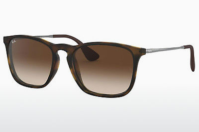 نظارة شمسية Ray-Ban CHRIS (RB4187 856/13) - بني, هافانا