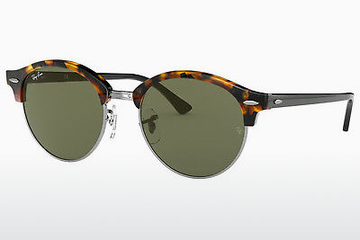 نظارة شمسية Ray-Ban Clubround (RB4246 1157) - بني, هافانا, أسود