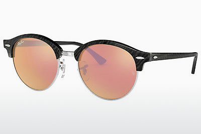 نظارة شمسية Ray-Ban Clubround (RB4246 1197Z2) - أسود