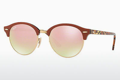 نظارة شمسية Ray-Ban CLUBROUND (RB4246 12207O) - ذهبي