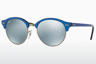 نظارة شمسية Ray-Ban Clubround (RB4246 984/30) - أزرق, أسود